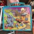 画像2: 70s Vintage Lunch Box Disney Magic Kingdom (B145) (2)