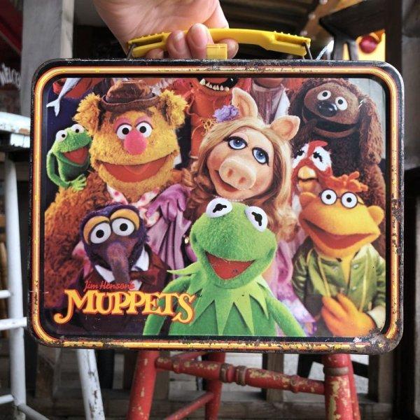 画像2: 70s Vintage Lunch Box Muppets Kermit the Frog (B143)