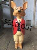 Vintage Snooty Fox Plastic Figure 18' (B152)