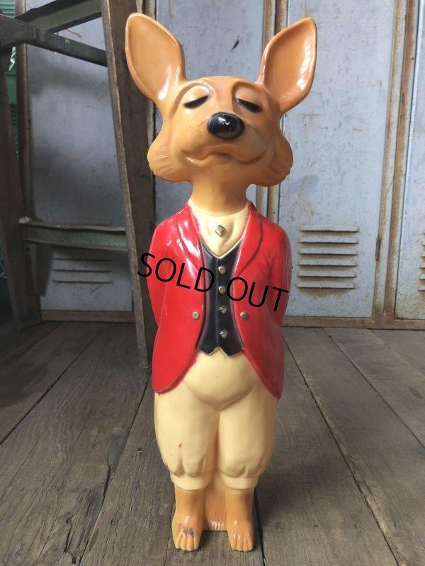 画像1: Vintage Snooty Fox Plastic Figure 18' (B152)