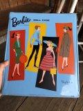 60s Vintage Mattel Barbie Fashion Doll Case (B156)