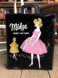 60s Vintage Mattel Barbie Midge Fashion Doll Case (B168)