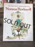 Vintage Norman Rockwell 1916〜1969 Art Book (B170)