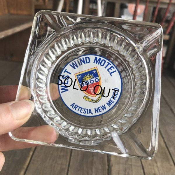 画像1: Vintage Motel Restaurant Ashtray / West Wind (B192)