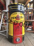 Vintage PENNZOIL Oil Drum Can Good Condition (B196)