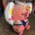 画像2: Vintage Polka dot Pink Elephant Piggy Bank (B197) (2)