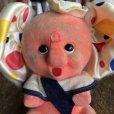 画像9: Vintage Polka dot Pink Elephant Piggy Bank (B197)