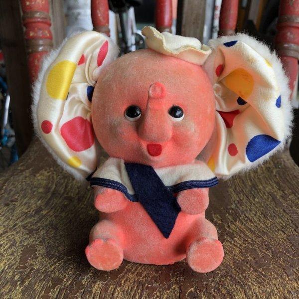 画像1: Vintage Polka dot Pink Elephant Piggy Bank (B197)