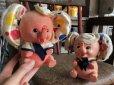 画像10: Vintage Polka dot Pink Elephant Piggy Bank (B197)
