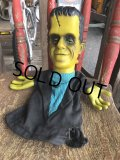 60s Vintage Mattel The Munsters TV Show Herman Tanking Hand Puppet Doll (B216)