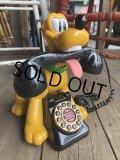 90s Vintage Disney Pluto Phone (B232)