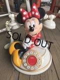 90s Vintage Disney Minnie Mouse Phone (B233)