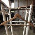 画像4: Vintage Antique Advertising Wood Hanger RAAB BROS. (B253) (4)
