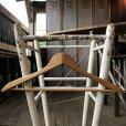 画像3: Vintage Antique Advertising Wood Hanger Jim CLINTON Men's Store (B249) (3)
