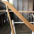画像2: Vintage Antique Advertising Wood Hanger RAAB BROS. (B253) (2)