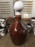 画像9: 50s Vintage JAPAN Skull Poision Bottle Decanter Shot Glass SET (B276)