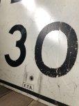 画像3: Vintage Road Sign SPEED LIMIT 30 (B315)  (3)