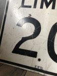 画像3: Vintage Road Sign SPEED LIMIT 20 (B289)  (3)