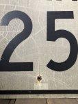 画像3: Vintage Road Sign SPEED LIMIT 25 (B307)  (3)