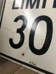画像3: Vintage Road Sign SPEED LIMIT 30 (B320)  (3)