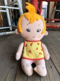 Vintage The Flintstones Pebbles Doll (B327)