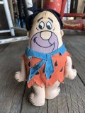 Vintage The Flintstones Fred Mini Doll (B328)