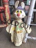 Vintage Ideal Ricochet Rabbit Hand Puppet (B358)