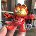 Vintage Hot Stuff Red Devil PVC Figure Garfield (B379)