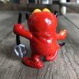 画像3: Vintage Hot Stuff Red Devil PVC Figure Garfield (B379)  (3)