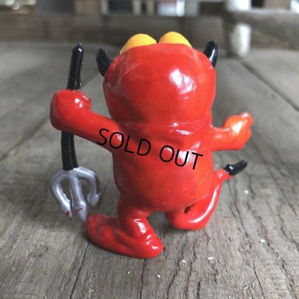 画像3: Vintage Hot Stuff Red Devil PVC Figure Garfield (B379)