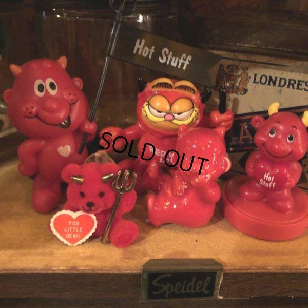 画像4: Vintage Hot Stuff Red Devil PVC Figure Garfield (B379)