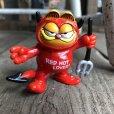 画像2: Vintage Hot Stuff Red Devil PVC Figure Garfield (B379)  (2)