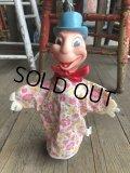 Vintage Gund Disney Hand Puppet Jiminy Cricket (B384)