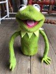 画像2: 70s Vintage FP Muppets Kermit the Frog Puppet doll (B389) (2)