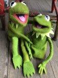 画像9: 70s Vintage FP Muppets Kermit the Frog Puppet doll (B389)