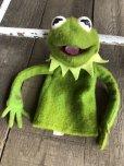 画像8: 70s Vintage FP Muppets Kermit the Frog Puppet doll (B389)
