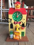 70s Vintage Sesame Street Clock (B394)