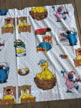 画像4: Vintage Sesame Street Fabric 100x76cm (B398)