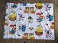 画像2: Vintage Sesame Street Fabric 100x76cm (B398) (2)