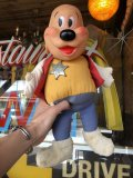 60s Vintage IDEAL Terry Toons Deputy Dawg Rubber Face Doll (B355)