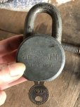 画像9: Vintage American Lock Co Series 10 Hardened Padlock (B402) (9)