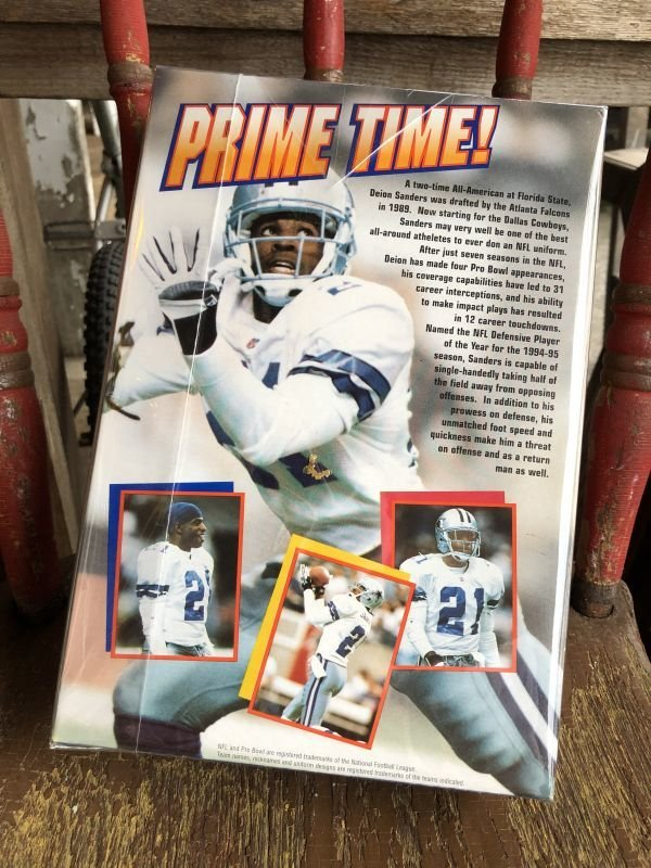 画像2: Vintage Cereal  Box Deion Sanders (B405)