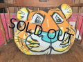 60s Vintage Esso Exxon Friends Of The Tiger Pillow Cushion (B415)