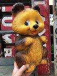 画像9: 70s Vintage Teddy Bear Plastic Coin Bank (B418)