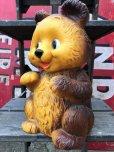 画像5: 70s Vintage Teddy Bear Plastic Coin Bank (B418)