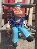 Vintage Popeye Doll 45cm (B427)