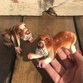 Vintage Japan Hound Dog Salt and Pepper Shakers (B446)