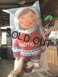 Vintage Advertising Pillow Doll Eskimo Pie MIP (B081)