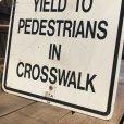 画像3: Vintage Road Sign STATE LAW (B454)  (3)