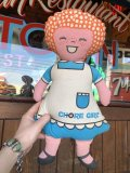 Vintage Advertising Pillow Doll Chore Girl (B107)